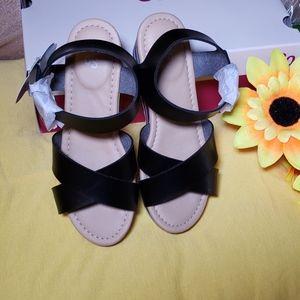 SO Delsie Girl's wedge sandals
